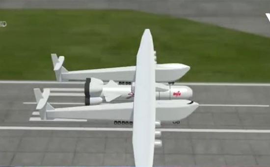 Chiếc máy bay lớn nhất thế giới bắt đầu chạy thử nghiệm