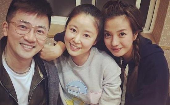 Triệu Vy và Tô Hữu Bằng hội ngộ mừng đầy tháng con gái Lâm Tâm Như
