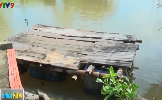 Nguy cơ tai nạn đường thủy từ bè tự chế tại Cà Mau