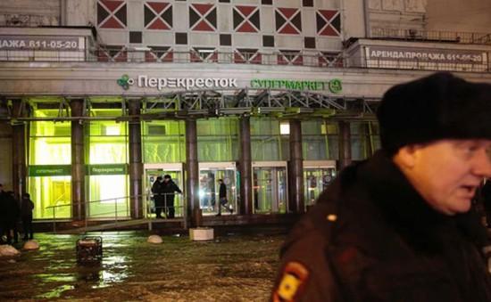 IS thừa nhận đánh bom ở siêu thị tại St. Petersburg, Nga