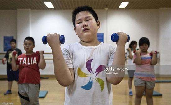 Cuộc đua giảm cân ở trại hè của những trẻ béo phì Trung Quốc