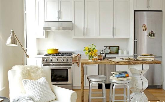 Những ý tưởng không thể bỏ qua cho gian bếp nhỏ hẹp