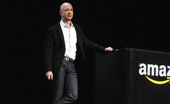"""Bất ngờ """"nghèo"""" đi, ông chủ Amazon mất ngôi giàu số 2 thế giới"""