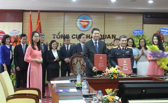 BIDV và Tổng cục Hải quan ký thỏa thuận hợp tác triển khai dịch vụ nộp thuế Hải quan điện tử 24/7