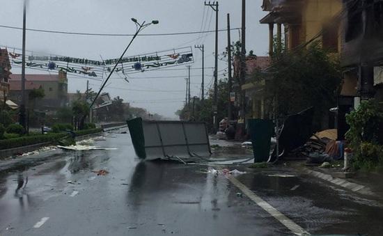 Bão số 10 gây thiệt hại tại Nghệ An