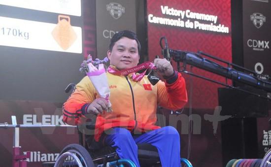 Việt Nam giành thêm huy chương tại Giải vô địch cử tạ người khuyết tật
