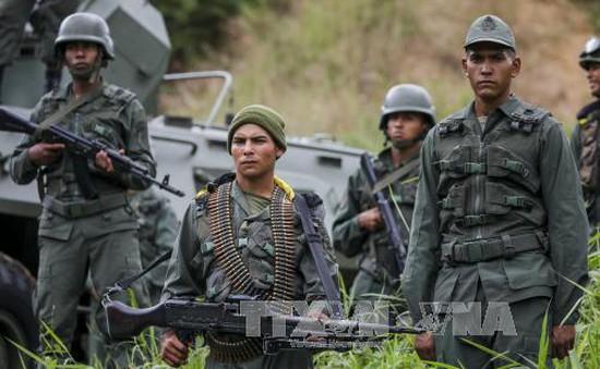 Venezuela bắt đầu tập trận duy trì trạng thái sẵn sàng chiến đấu