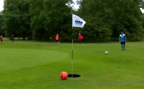 Trải nghiệm thú vị khi bóng đá kết hợp đánh golf