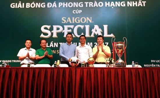 Khởi tranh Giải bóng đá phong trào hạng Nhất mùa thứ II năm 2017