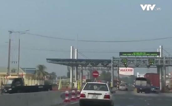 Xử lý nghiêm hành vi gây rối tại các trạm thu phí giao thông