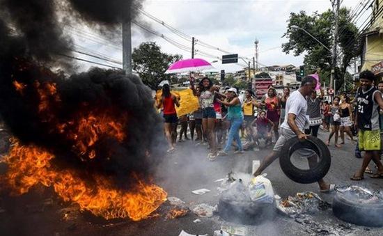 Brazil: Mất trật tự trị an do cảnh sát đình công