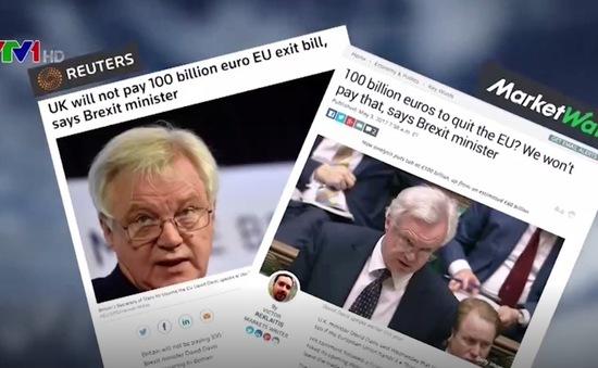Hóa đơn 100 tỷ USD - Nguy cơ mới cho đàm phán Brexit