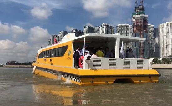 Xe bus đường sông - Kỳ vọng giảm ùn tắc ở TP.HCM