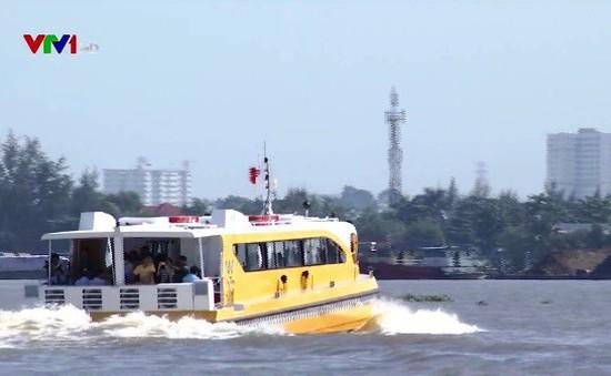Bus đường sông tại TP.HCM chính thức vận hành