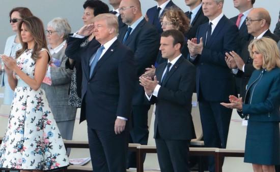 Ông Trump là khách mời danh dự trong lễ duyệt binh kỷ niệm 228 năm ngày Quốc khánh Pháp