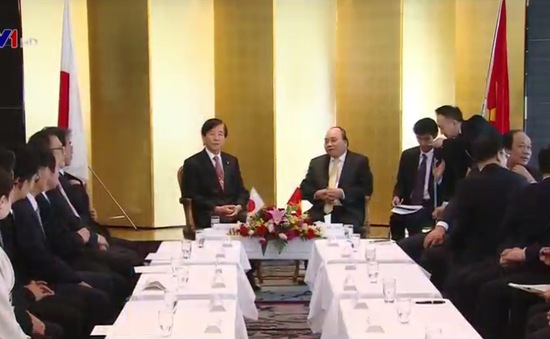 Thủ tướng tiếp Chủ tịch Hội hữu nghị Nhật - Việt tỉnh Sakai