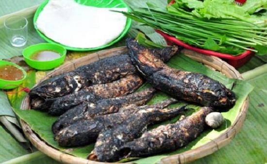 Thơm ngon, hấp dẫn món cá trê nướng lá chuối