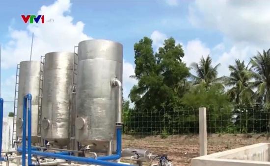 Dự án cấp nước hơn 60 tỷ đồng ở Cà Mau bỏ không vì thiếu điện