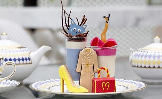 Độc đáo bộ sưu tập thời trang làm từ... bánh ngọt