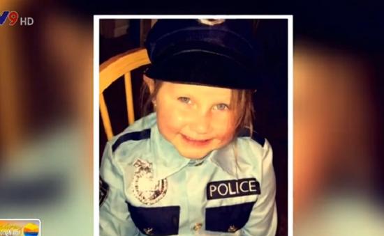 Bé gái 4 tuổi ở Mỹ trở thành cảnh sát danh dự