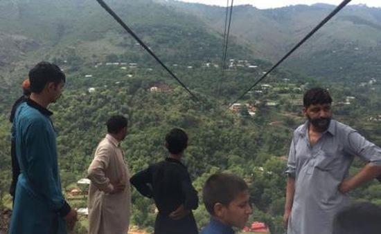 Đứt cáp treo khiến ít nhất 10 người chết tại Pakistan