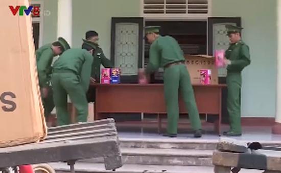 Quảng Trị tăng cường phòng chống buôn lậu pháo nổ