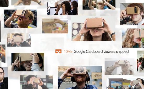 10 triệu chiếc kính thực tế ảo Cardboard VR đã tới tay người dùng