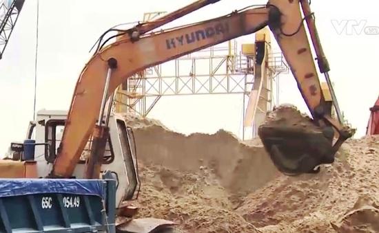 Bộ Xây dựng phản hồi tình trạng khan hiếm cát