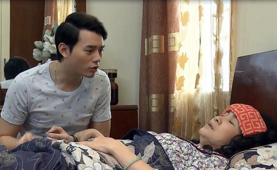 """Sống chung với mẹ chồng - Tập 7: Bà Phương (NSND Lan Hương) giả ốm giả đau để """"giành giật"""" con trai"""