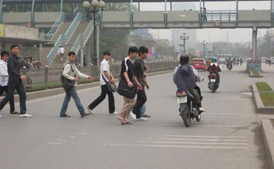Bắt đầu triển khai Tuần lễ an toàn cho người đi bộ
