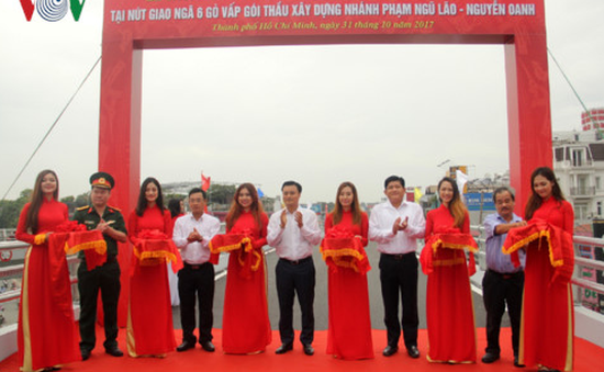 Thông xe nhánh thứ hai cầu vượt Ngã 6 Gò Vấp, TP.HCM