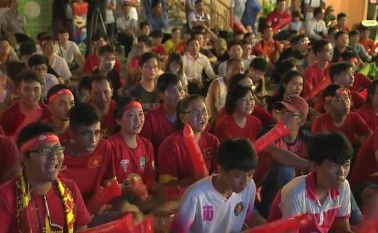 CĐV thành phố Hồ Chí Minh tự hào về U20 Việt Nam