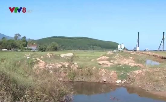 Chậm đền bù các hộ dân bị ảnh hưởng do thi công hầm Phước Tượng Phú Gia