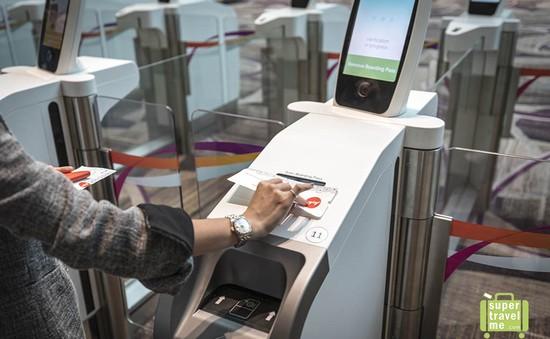 Sân bay Changi, Singapore chính thức vận hành nhà ga không nhân viên