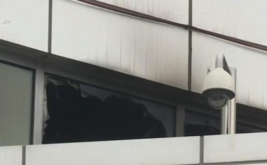 Cháy trung tâm thương mại ở Hàn Quốc, 4 người thiệt mạng