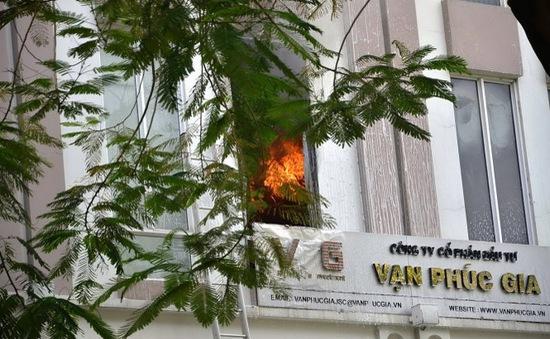 Lại cháy ở trung tâm TP.HCM