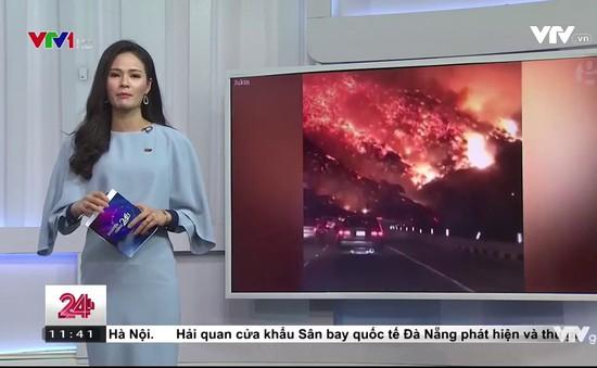 Vụ cháy rừng tại California: Người dân di tản trên diện rộng
