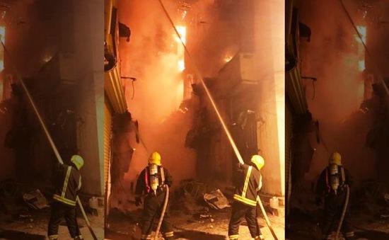Saudi Arabia: Cháy lớn tại thị trấn cổ 1.400 tuổi