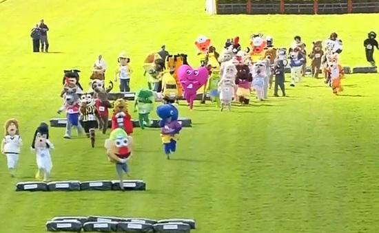 Cuộc thi chạy của những nhân vật hoạt hình