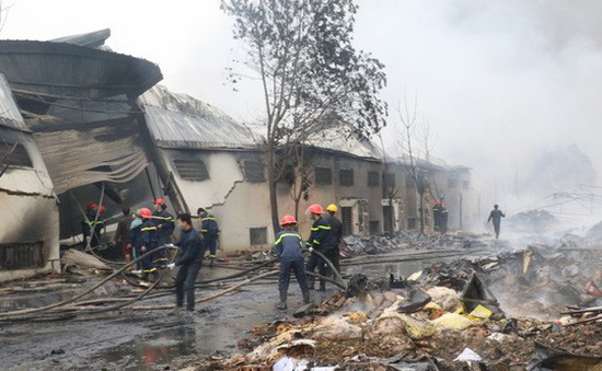 Tìm thấy thi thể thứ 2 trong vụ cháy ở Thanh Hóa