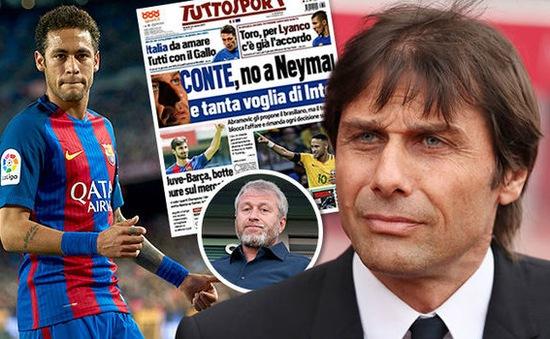 """Roman Abramovich """"kết"""" Neymar, HLV Conte nói không"""