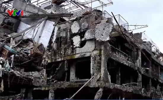 Nỗ lực tái thiết thành phố Marawi sau chiến sự