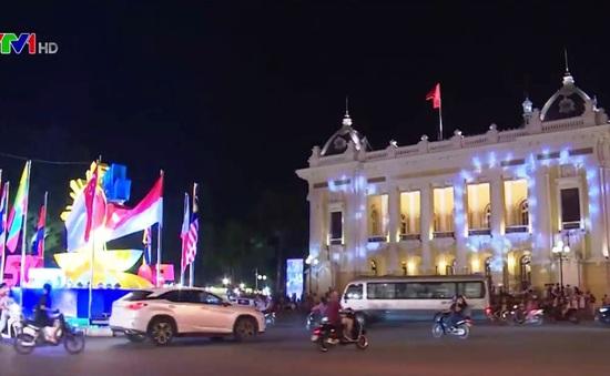 Các thành phố chiếu sáng nghệ thuật kỷ niệm 50 năm ASEAN