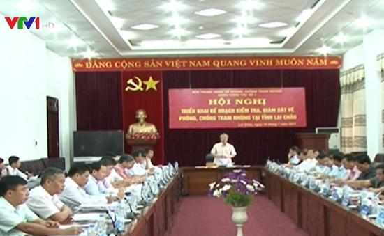 Kiểm tra phòng, chống tham nhũng tại Lai Châu