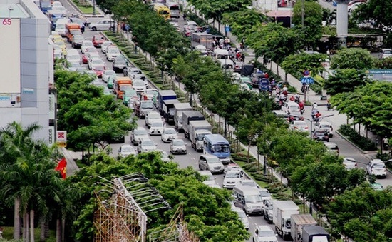 Khởi công 2 cầu vượt vào Tân Sơn Nhất: Nên hạn chế lưu thông vào đường Trường Sơn