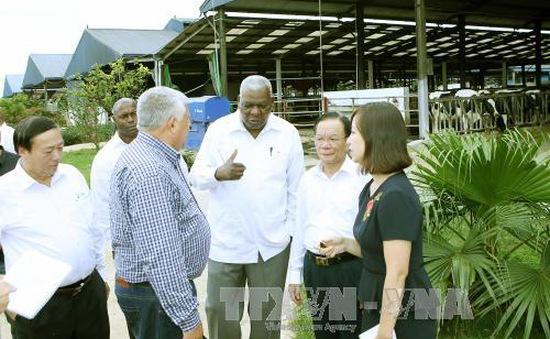 Chủ tịch Quốc hội Cuba thăm và làm việc tại Sơn La