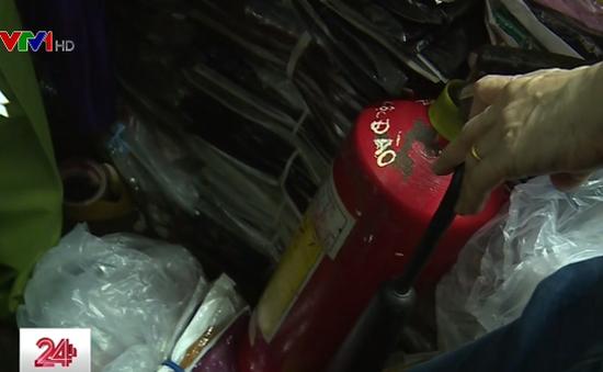Hệ thống báo cháy tự động chợ Tân Bình tê liệt