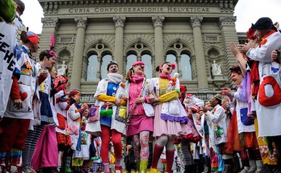 Lễ hội các chú hề tại Mexico