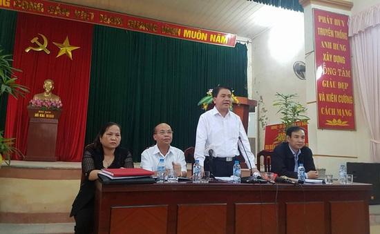 Người dân xã Đồng Tâm trả các cán bộ, chiến sỹ công an đang bị giữ trái phép tại thôn
