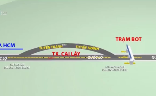 Tiền Giang: Lập lại trật tự an toàn giao thông tuyến tránh Cai Lậy